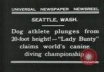 Image of dog athlete Seattle Washington USA, 1931, second 5 stock footage video 65675035128