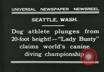 Image of dog athlete Seattle Washington USA, 1931, second 6 stock footage video 65675035128