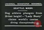 Image of dog athlete Seattle Washington USA, 1931, second 9 stock footage video 65675035128