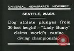 Image of dog athlete Seattle Washington USA, 1931, second 10 stock footage video 65675035128