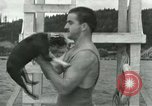 Image of dog athlete Seattle Washington USA, 1931, second 11 stock footage video 65675035128