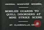 Image of miner's strike Saint Clairsville Ohio USA, 1931, second 8 stock footage video 65675035131