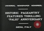Image of Italian people Siena Italy, 1931, second 2 stock footage video 65675035132