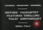 Image of Italian people Siena Italy, 1931, second 4 stock footage video 65675035132