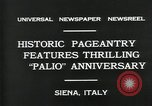 Image of Italian people Siena Italy, 1931, second 5 stock footage video 65675035132