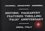 Image of Italian people Siena Italy, 1931, second 9 stock footage video 65675035132