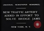 Image of New upper deck roadway New York United States USA, 1931, second 3 stock footage video 65675035135