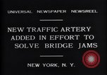 Image of New upper deck roadway New York United States USA, 1931, second 6 stock footage video 65675035135