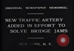 Image of New upper deck roadway New York United States USA, 1931, second 7 stock footage video 65675035135