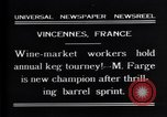 Image of M Farge Vincennes France, 1931, second 2 stock footage video 65675035136