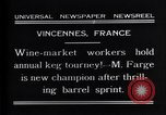 Image of M Farge Vincennes France, 1931, second 3 stock footage video 65675035136