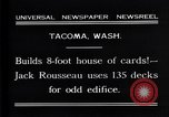 Image of Jack Rousseau Tacoma Washington USA, 1931, second 2 stock footage video 65675035137