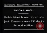 Image of Jack Rousseau Tacoma Washington USA, 1931, second 3 stock footage video 65675035137