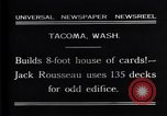 Image of Jack Rousseau Tacoma Washington USA, 1931, second 4 stock footage video 65675035137