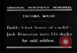 Image of Jack Rousseau Tacoma Washington USA, 1931, second 5 stock footage video 65675035137