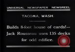 Image of Jack Rousseau Tacoma Washington USA, 1931, second 6 stock footage video 65675035137