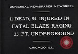Image of rescue workers Chicago Illinois USA, 1931, second 2 stock footage video 65675035142