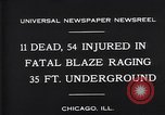 Image of rescue workers Chicago Illinois USA, 1931, second 4 stock footage video 65675035142