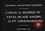 Image of rescue workers Chicago Illinois USA, 1931, second 5 stock footage video 65675035142