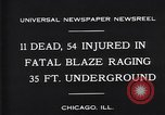 Image of rescue workers Chicago Illinois USA, 1931, second 7 stock footage video 65675035142