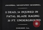 Image of rescue workers Chicago Illinois USA, 1931, second 8 stock footage video 65675035142