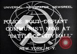 Image of communist mob New York United States USA, 1932, second 3 stock footage video 65675035143