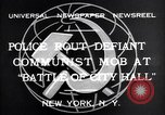 Image of communist mob New York United States USA, 1932, second 4 stock footage video 65675035143