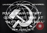 Image of communist mob New York United States USA, 1932, second 8 stock footage video 65675035143