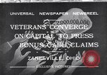 Image of World War I veterans benefits Zanesville Ohio USA, 1932, second 1 stock footage video 65675035149