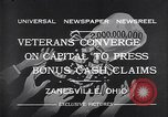Image of World War I veterans benefits Zanesville Ohio USA, 1932, second 2 stock footage video 65675035149