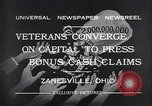 Image of World War I veterans benefits Zanesville Ohio USA, 1932, second 7 stock footage video 65675035149