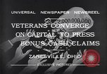 Image of World War I veterans benefits Zanesville Ohio USA, 1932, second 9 stock footage video 65675035149