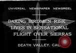 Image of airplanes Death Valley California USA, 1932, second 1 stock footage video 65675035150