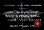 Image of airplanes Death Valley California USA, 1932, second 3 stock footage video 65675035150