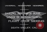 Image of airplanes Death Valley California USA, 1932, second 4 stock footage video 65675035150
