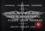 Image of airplanes Death Valley California USA, 1932, second 6 stock footage video 65675035150