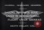 Image of airplanes Death Valley California USA, 1932, second 7 stock footage video 65675035150