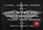 Image of airplanes Death Valley California USA, 1932, second 8 stock footage video 65675035150
