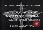 Image of airplanes Death Valley California USA, 1932, second 9 stock footage video 65675035150