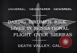 Image of airplanes Death Valley California USA, 1932, second 10 stock footage video 65675035150