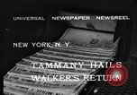Image of James John Walker New York United States USA, 1932, second 5 stock footage video 65675035159