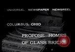 Image of glass bricks Columbus Ohio USA, 1932, second 2 stock footage video 65675035160