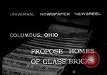 Image of glass bricks Columbus Ohio USA, 1932, second 4 stock footage video 65675035160