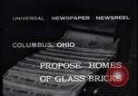 Image of glass bricks Columbus Ohio USA, 1932, second 5 stock footage video 65675035160