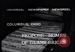 Image of glass bricks Columbus Ohio USA, 1932, second 6 stock footage video 65675035160