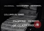 Image of glass bricks Columbus Ohio USA, 1932, second 7 stock footage video 65675035160