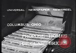 Image of glass bricks Columbus Ohio USA, 1932, second 8 stock footage video 65675035160