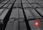 Image of Railroad marshaling yard filled with empty box cars United States USA, 1916, second 8 stock footage video 65675035165
