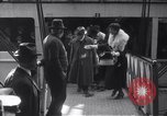 Image of Sara Bernhardt returning from French Front World War I New York City USA, 1915, second 3 stock footage video 65675035169