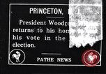 Image of President Woodrow Wilson Princeton New Jersey USA, 1916, second 1 stock footage video 65675035171